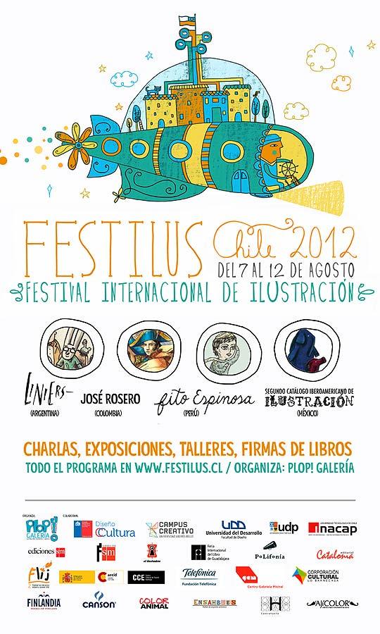 Festival Internacional de Animación. FESTILUS 2012.