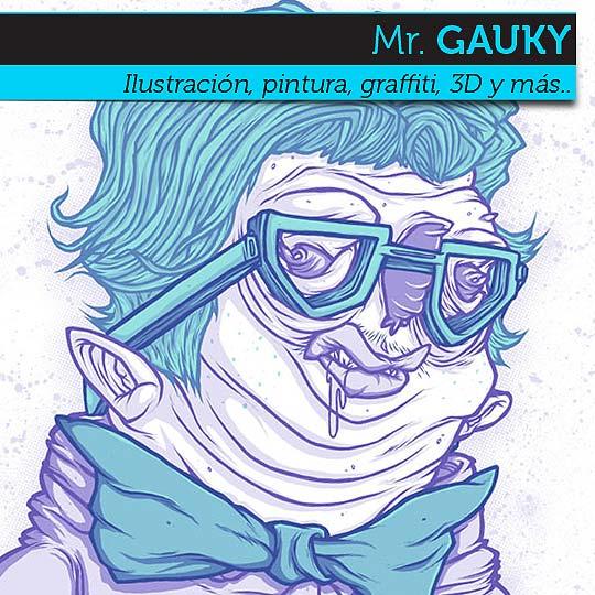Ilustración de Mr. GAUKY