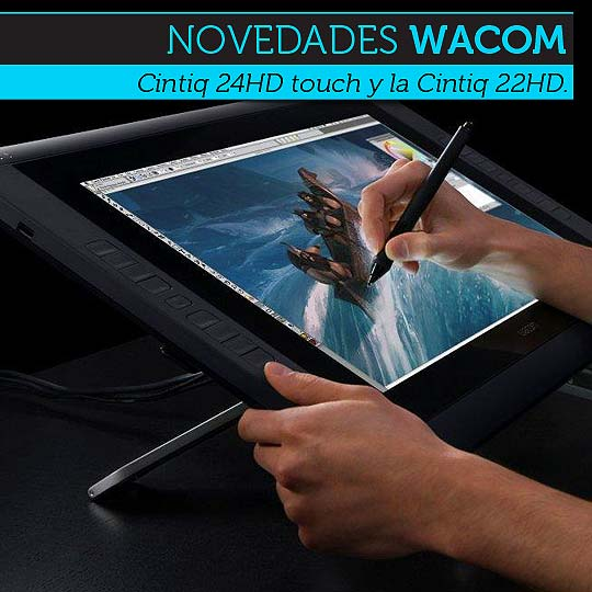 Tecnología. Nuevas tabletas graficas de Wacom.