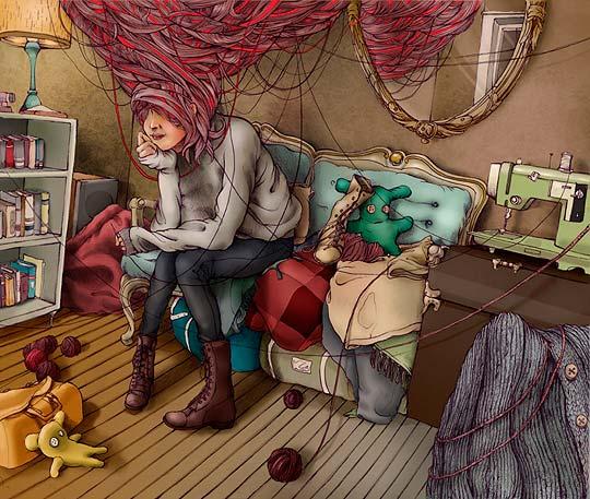 Ilustración de PAT PERRY