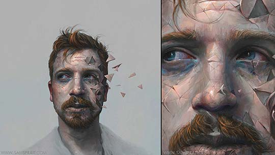 Ilustración de SAM SPRATT