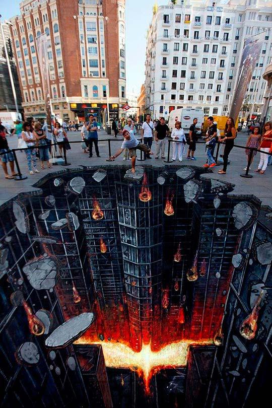 Arte urbano de The Dark Knight Rises