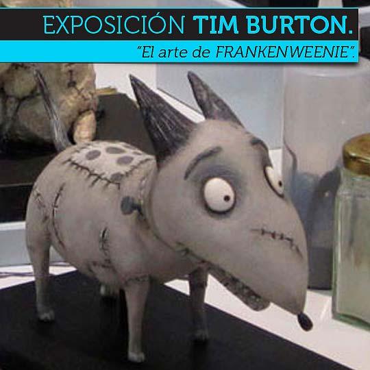 """""""El arte de FRANKENWEENIE"""" de Tim Burton. Exposición."""