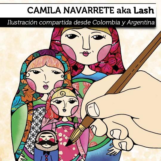 Ilustración de CAMILA NAVARRETE aka Lash