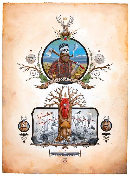 Ilustración  y aventuras de DEREK NOBSS.