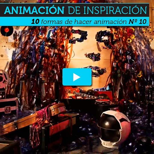 Animación. Diez formas de hacer animación Nº 10