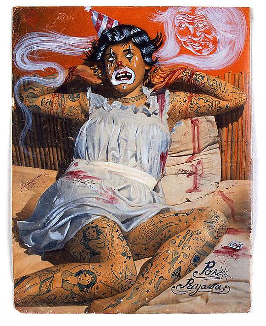 Arte provocador de DR. LAKRA.