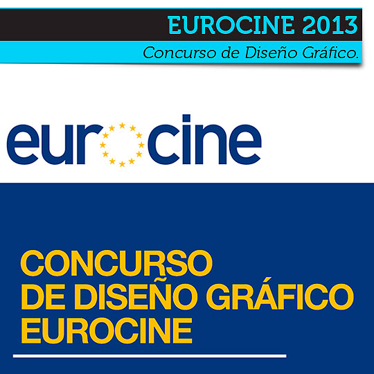 Concurso de Diseño Gráfico. EUROCINE 2013.
