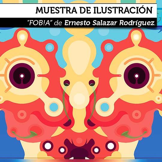 Muestra de ilustración de Ernesto Salazar Rodríguez.