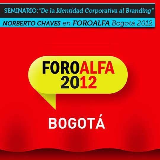 Seminario sobre Imagen Corporativa y Branding en Bogotá.