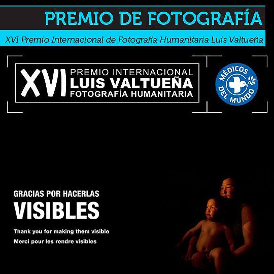 XVI Premio de Fotografía Humanitaria Luis Valtueña.