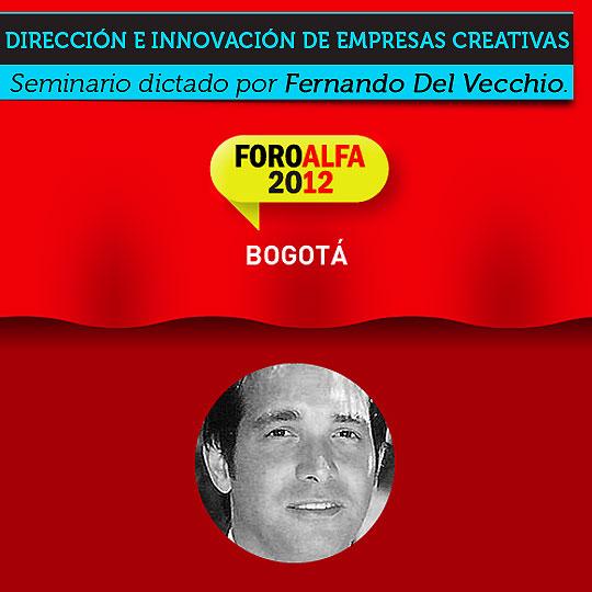 Seminario. Dirección e innovación de empresas creativas.