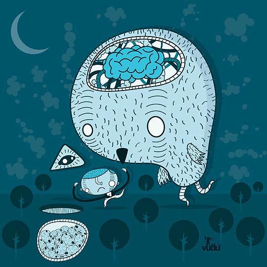 Ilustración de ALEJANDRO BECERRA aka Sr.Vudu.