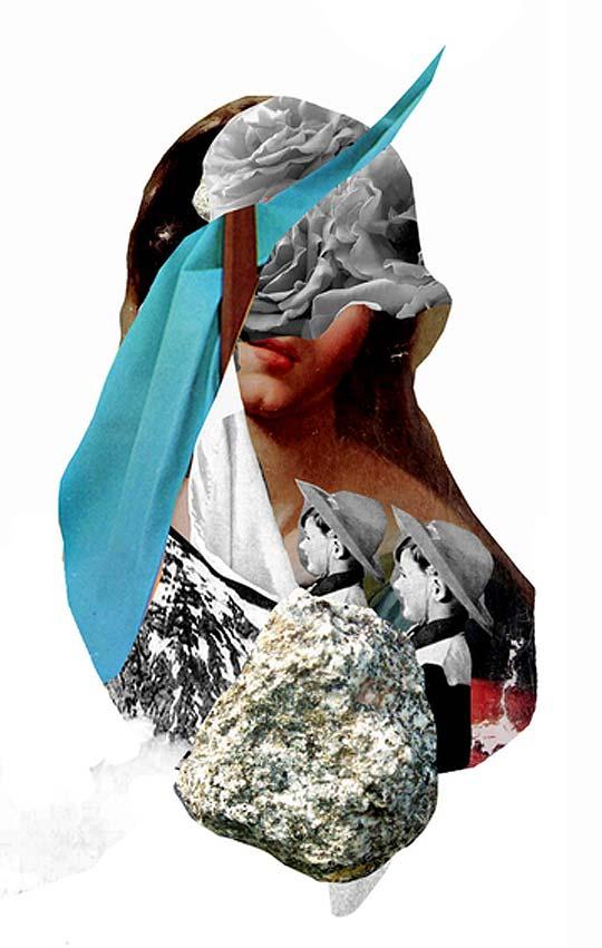 Ilustración. Collage de VIVIAN PANTOJA.