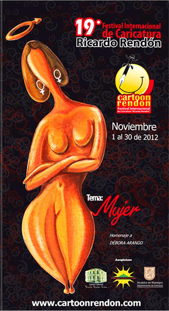 "19 Festival Internacional de Caricatura ""RICARDO RENDÓN"""