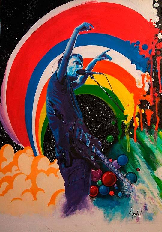 Pintura de Ezequiel Montivero aka Mont