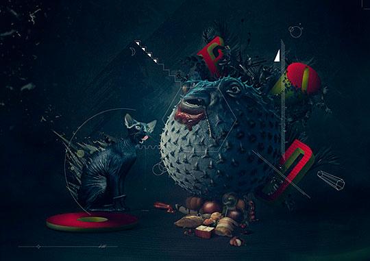 Fotolia presenta la obra del decimo artista de la Colección TEN.