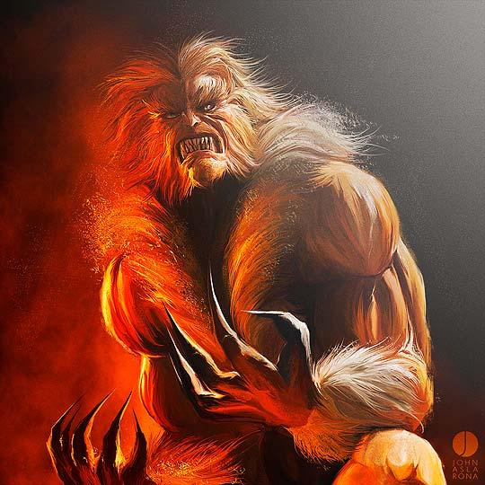 Pintura digital de JOHN ASLARONA
