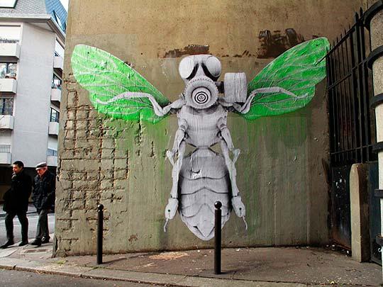 Arte urbano de LUDO