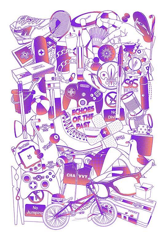 Ilustración de MIKE HARRISON