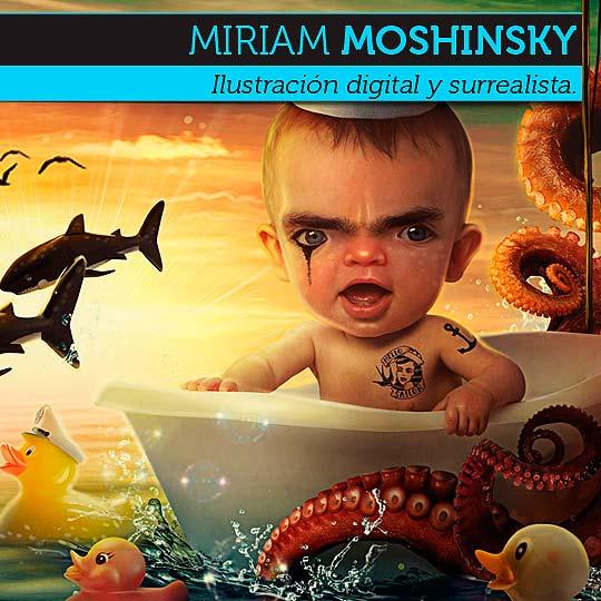 Ilustración de MIRIAM MOSHINSKY