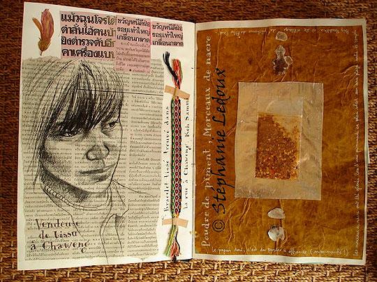 Retrato. Los cuadernos de viaje de STÉPHANIE LEDOUX.