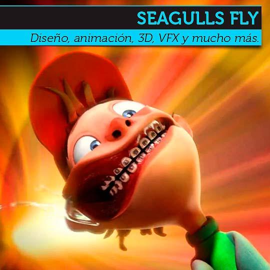 Diseño de SEAGULLS FLY
