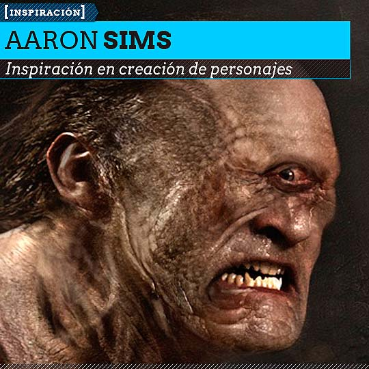 Personajes de AARON SIMS