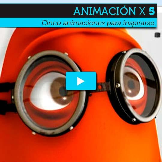 Cinco animaciones para pasar el domingo en la tarde