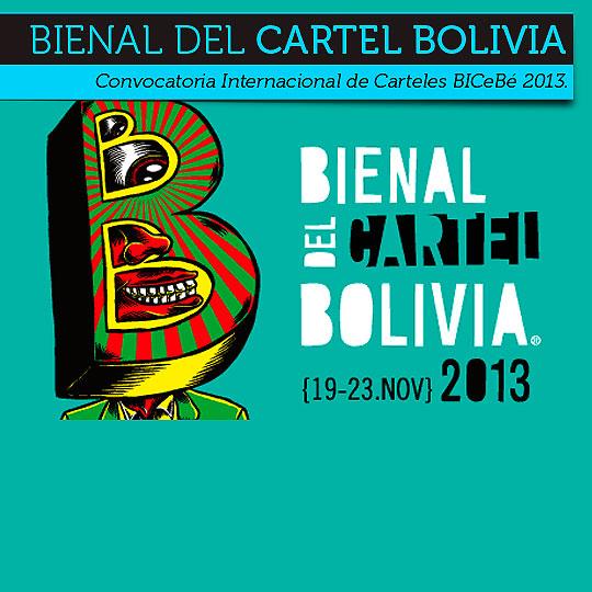 Bienal del Cartel Bolivia 2013.
