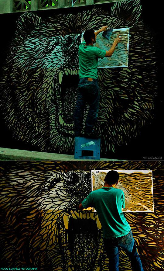 Arte Urbano de HORACIO FRENCH aka FrenchNapp.