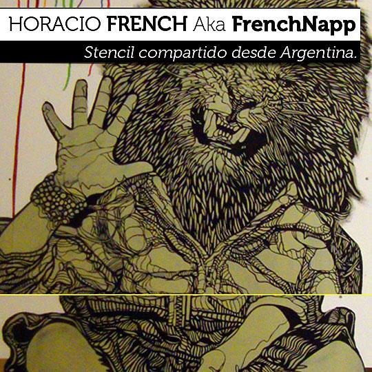 "Arte Urbano. ""Hola"" de HORACIO FRENCH aka FrenchNapp."