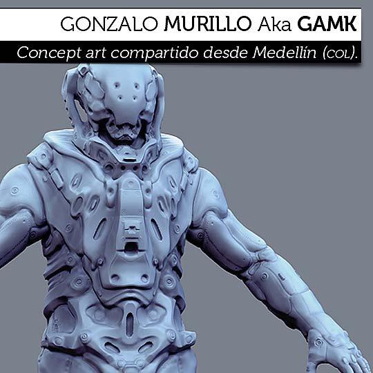 Conceptart de GONZALO MURILLO Aka Gamk