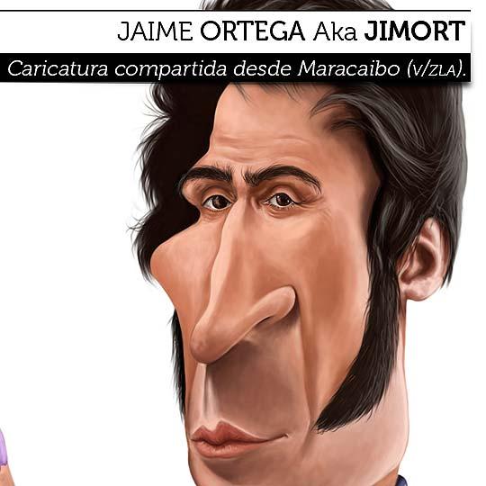 Caricatura de JAIME ORTEGA Aka Jimort