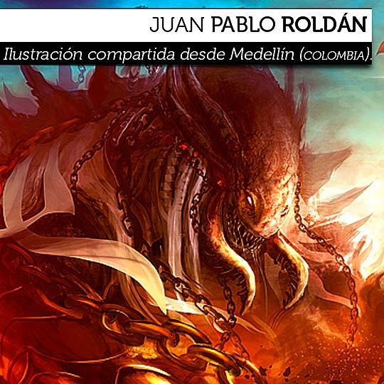 Ilustración de JUAN PABLO ROLDÁN