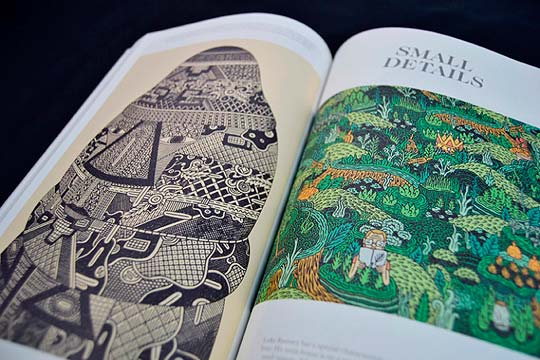 Libro Behind Illustrations