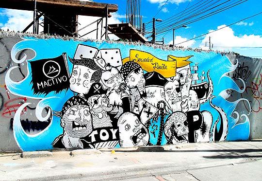 Arte urbano de Mactivo