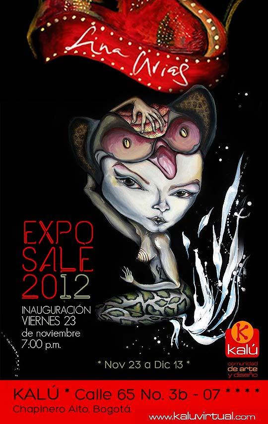Exposición. LINA ARIAS en Kalú