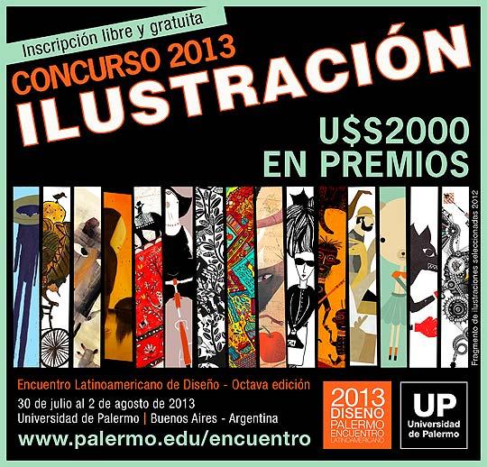 Premio a la Ilustración Latinoamericana 2013/UP.