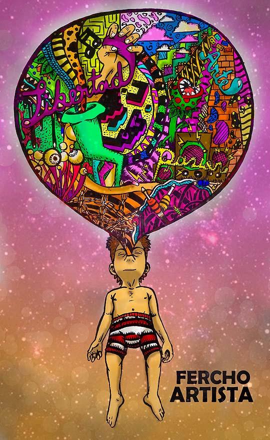 Ilustración de Fercho Artista