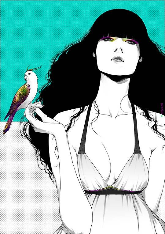 Ilustración de MARIA MENSHIKOVA