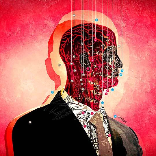 Ilustración. Tormenta cerebral de VICENTE MARTI SOLAR