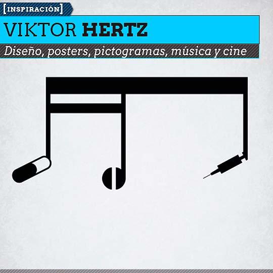 Diseño y pictogramas de VIKTOR HERTZ