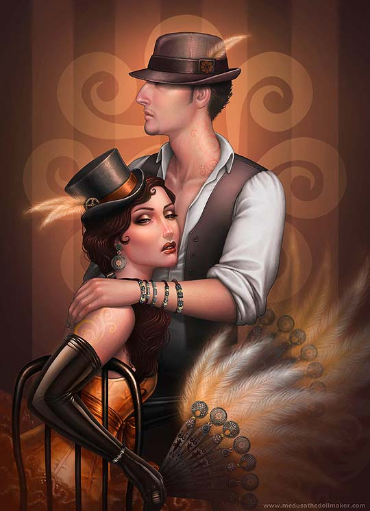 Ilustración de ASUNCION MACIAN RUIZ Aka Medusa The Dollmaker