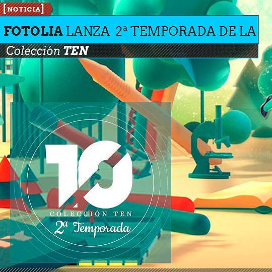 Fotolia lanza la 2ª temporada de su Colección TEN.