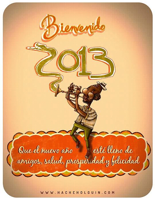 Feliz 2013 por Hache Holguín