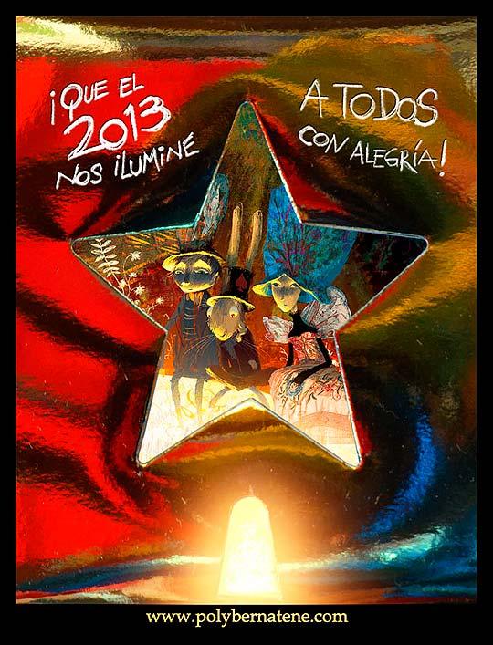 Feliz 2013 por Poly Bernatene