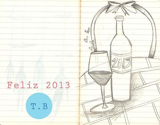 Feliz 2013 por Tierraboca