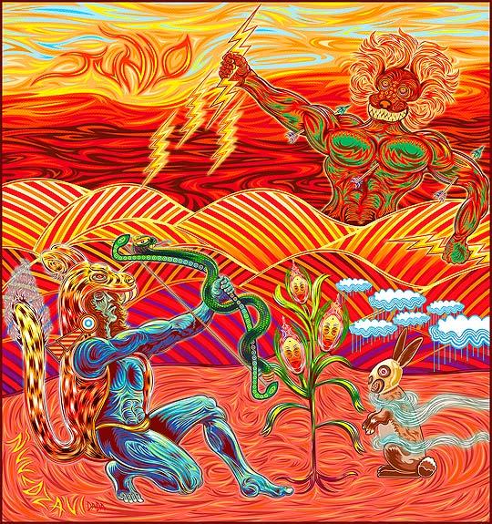 Ilustración de LENIN VÁSQUEZ Aka DADA