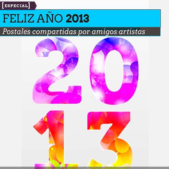 Postales de Feliz año 2013